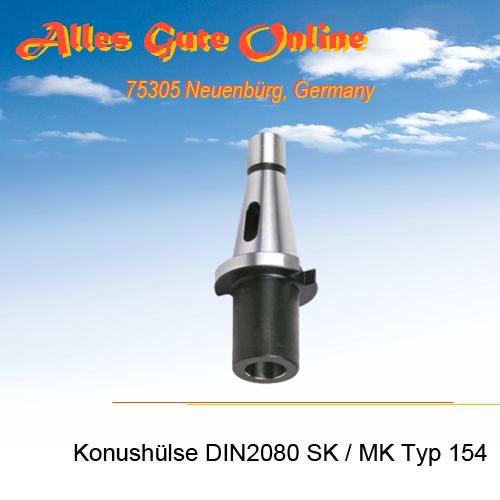 Einsatzhülse Typ 154 SK zu MK DIN228B
