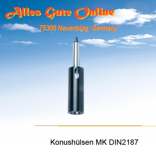 DIN2187 MK Verlängerungshülsen