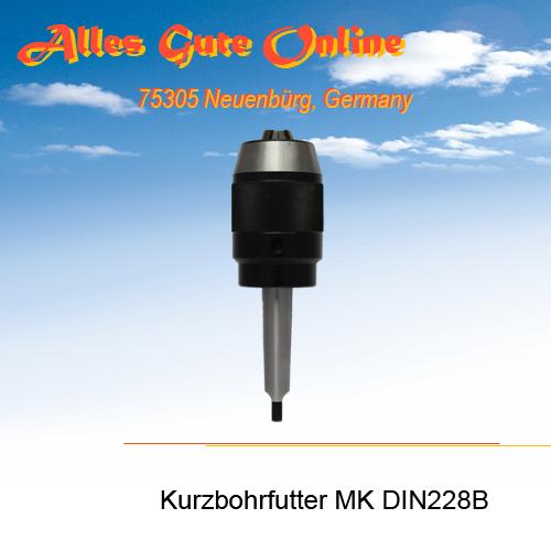 Kurzbohrfutter MK DIN228B