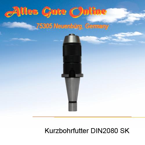 Kurzbohrfutter DIN2080 SK