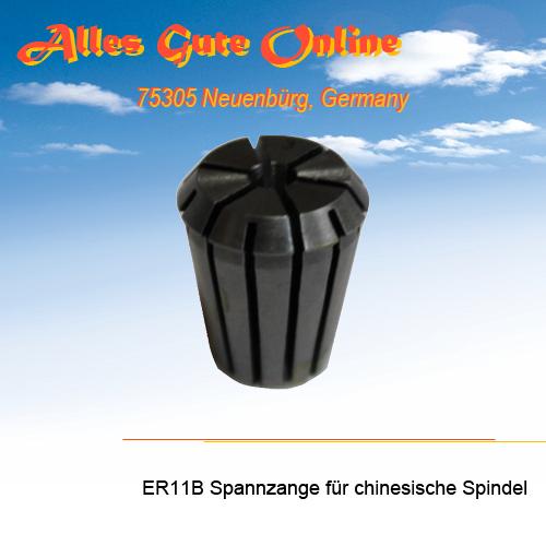 d = Spannzange ER11B für chinesiche Spindeln