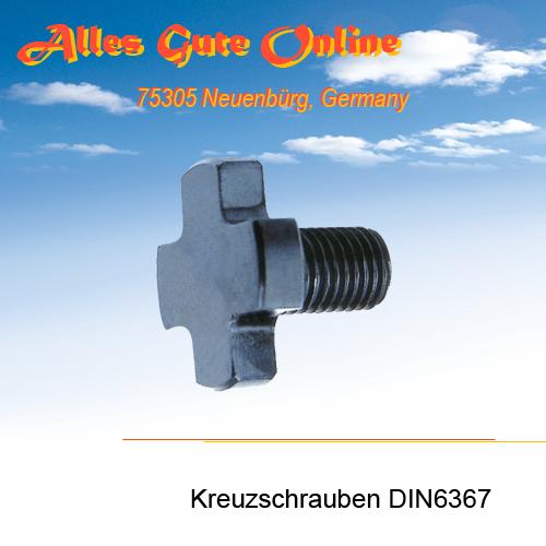 Kreuz-Schrauben DIN6367