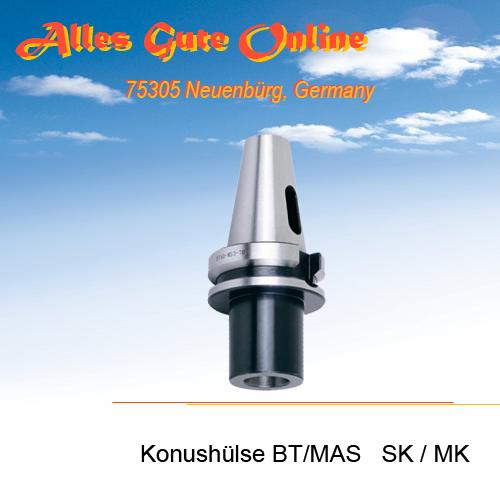Einsatzhülse BT/MAS SK zu MK DIN228B