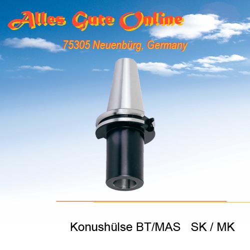 Einsatzhülse BT/MAS SK zu MK DIN228A