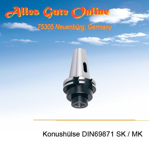 Einsatzhülse DIN69871 zu MK DIN228B