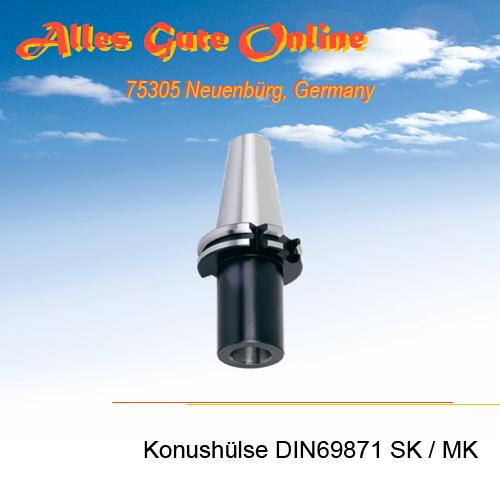Einsatzhülse DIN69871 SK zu MK DIN228A