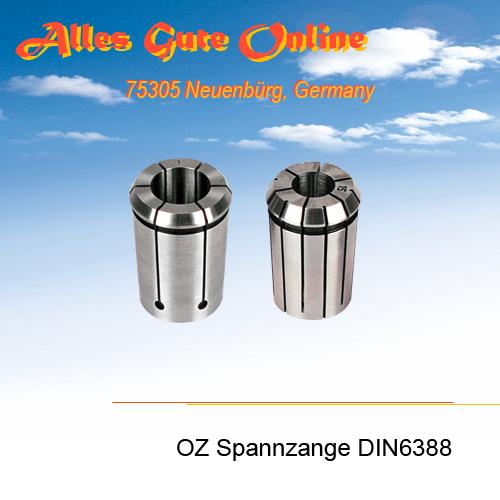 OZ/EOC Spannzangen DIN6388