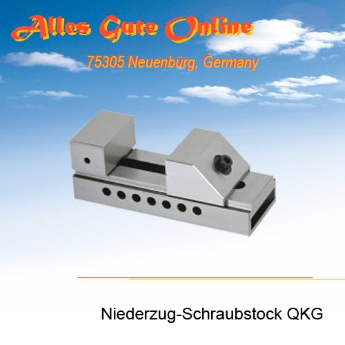 Niederzug-Schraubstock QKG